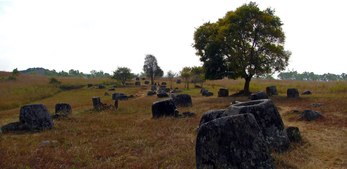 A Plain of Jars
