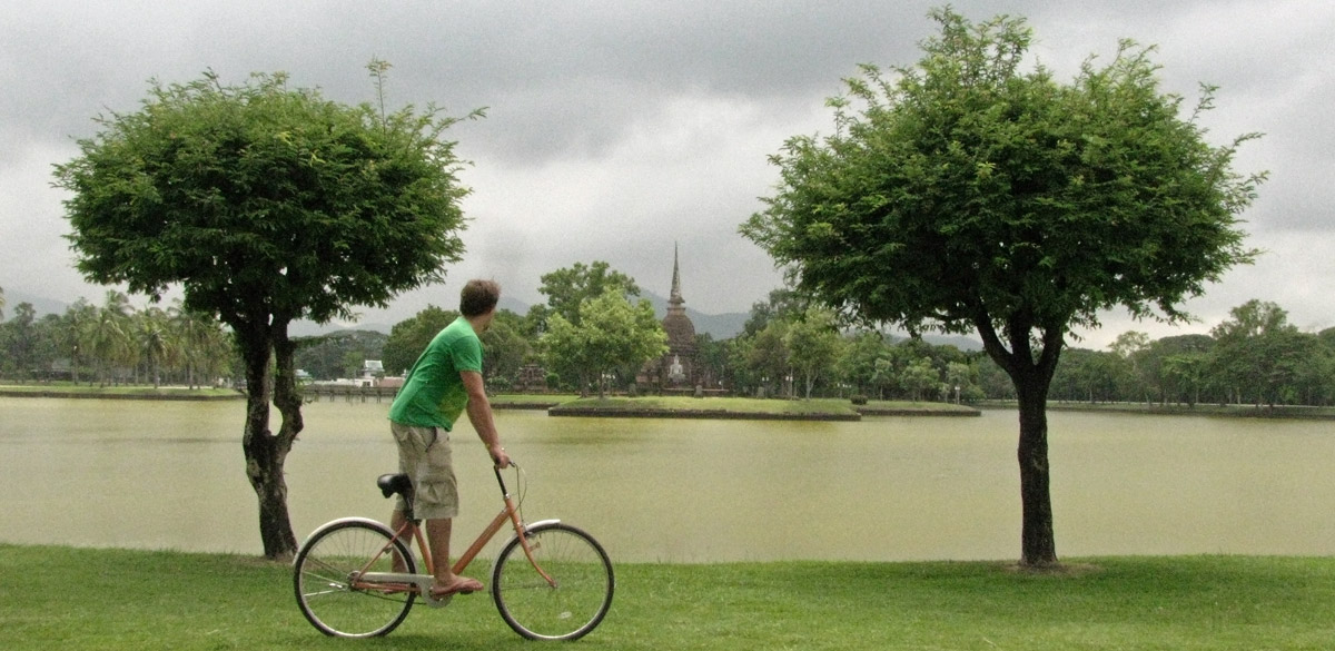 Cycling Around Sukhothai, Thailand